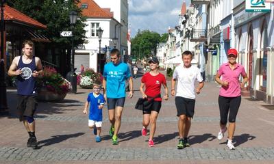 Karol Dzieciątko - rozgrzewka przed startem - 11.08.2013