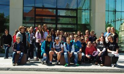Wycieczka uczniów Gimnazjum nr 1 z Chełmna - 23.05.2013