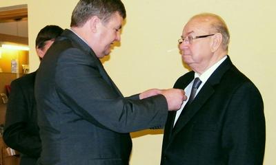 80. urodziny starszego cechu Brunona Gajewskiego  - 04.11.2011