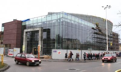 Filharmonia Kaszubska nabrała kształtów - 11.01.2012