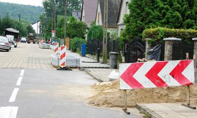 Odbiór budowy ulicy Panek - 22.08.2013