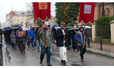 Droga Krzyżowa na Wejherowskiej Kalwarii