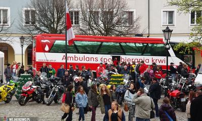 Motocykliści pomogli dzieciom - 12.04.2014