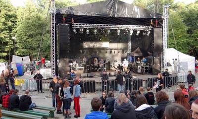 Open Air Rock Festival 2012 w Wejherowie - 08.09.2012
