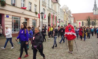 V Niepodległościowy Marsz Nordic-Walking w Wejherowie