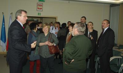 Forum Sekretarzy Pomorza w Wejherowie - 17.01.2012