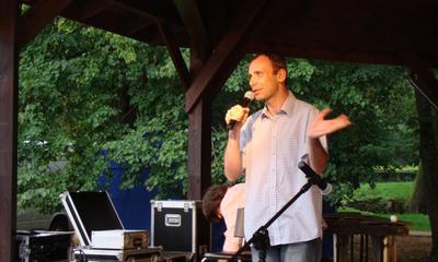 Koncert w parku zespołu Acoustic Acrobats - 07.08.2011