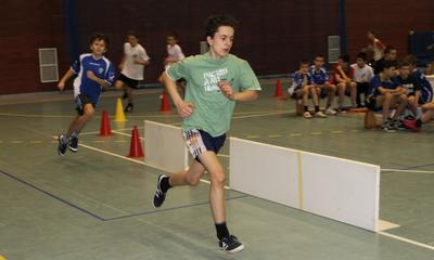 IX Halowe Mistrzostwa Powiatu w Lekkoatletyce SP - 12.01.2011