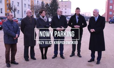Nowy parking przy ulicy Kropidłowskiej
