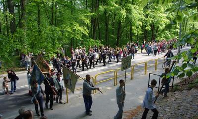 Odpust Wniebowstapienia Pańskiego - powitanie pielgrzymek - 19.04.2012