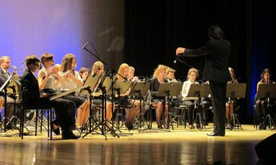 """Dziesięć lat Orkiestry Dętej """"Fermata"""" - 17.01.2015"""