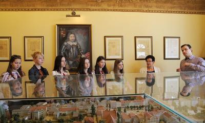 Studentki z Ukrainy w Wejherowie