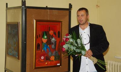 Wernisaż malarstwa Tomasza Pietrzyka - 06.09.2010