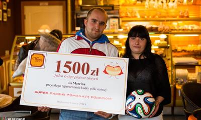 Pomoc dla Marcina - 06.03.2014