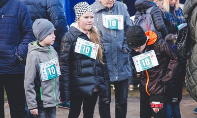 Pomaganie przez bieganie dla Mikołaja