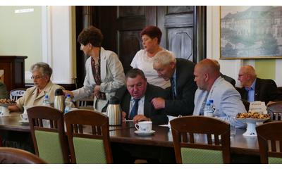 Zebranie Oddziału Związku Inwalidów Wojennych RP