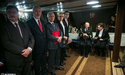Medal Miasta Wejherowa dla Aleksandra Pawelca - 11.12.2015