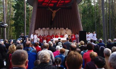 Uroczystość w Piaśnicy - 04.10.2015