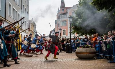 Rekonstrukcja historyczna w Wejherowie - 28.06.2014