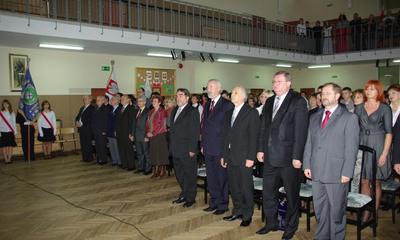 Miejska Akademia z okazji Świeta Niepodlkegłości w w Zespole Szkół nr 2, 10-11-2009