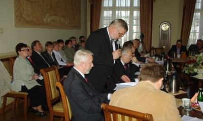 XVI zwyczajnej sesji Rady Miasta Wejherowa - 24.04.2012