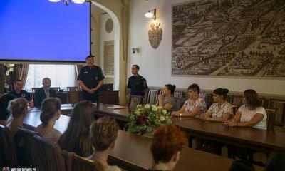 Zakończenie kursu samoobrony dla kobiet w Wejherowie