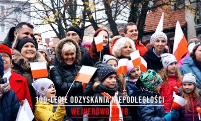 Obchody 100-lecia odzyskania niepodległości w Wejherowie