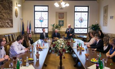 Inauguracja Młodzieżowej Rady Miasta Wejherowa - 04.02.2016