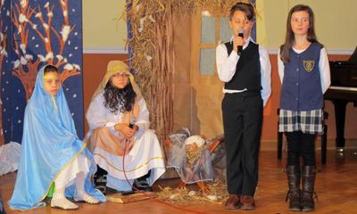 Jasełka przedszkolaków w Gimnazjum nr 1 - 08.01.2011