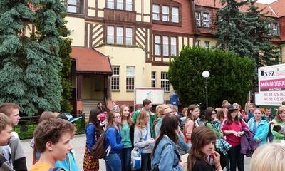 Wizyta uczniów Gimnazjum nr 1 w Chełmnie - 06.06.2013