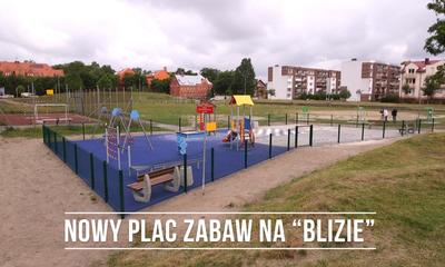 Nowy plac zabaw na osiedlu Przyjaźni