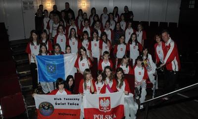 Klub Taneczny ŚwiatTańca na German Open - 27.03.2011