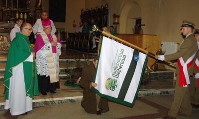 Poświęcenie sztandaru dla Nadleśnictwa Wejherowo - 16.11.2011