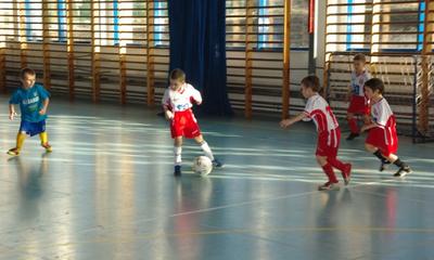 Turniej piłkarski APN Błękitni dla najmłodszych - 11.03.2012