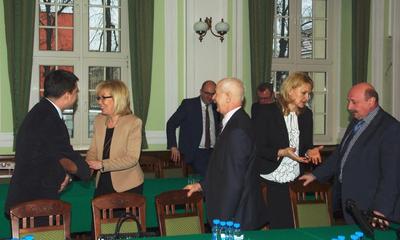 I Konwent Samorządowców Powiatu Wejherowskiego - 20.01.2015