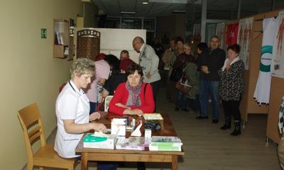 Akcja profilaktyki przeciw udarowi mózgu w NZOZ Nasz Dom - 16.11.2012