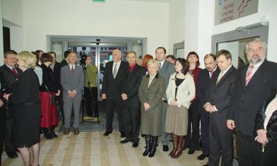 Otwarcie budynku administracyjnego UM - 18.12.2009