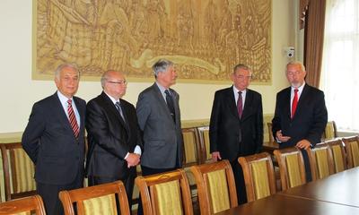 Prezes Związku Rzemiosła Polskiego w Wejherowie - 15.10.2013