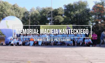 Memoriał Macieja Kanteckiego - otwarte biegi przełajowe