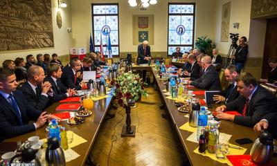 Pierwsza sesja Rady Miasta Wejherowa VII kadencji - 01.12.2014