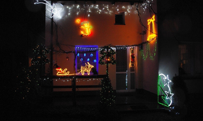 Komisja konkursowa obejrzała dekoracje świąteczne - 08.01.2014